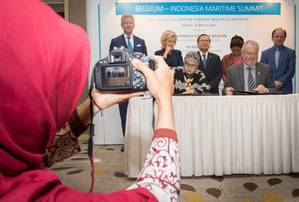 Deal Signed at Belgium-Indonesia Maritime Summit Photo Antwerp Port