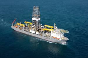 Drillship Deepwater Champion: Photo credit Rolls-Royce