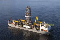 The DEEPWATER CHAMPION is a double hull dynamically-positioned DPS class 3 dual activity Transocean / MSC Gusto P10000 Drillship with third load path capability (Source: Transocean.com)