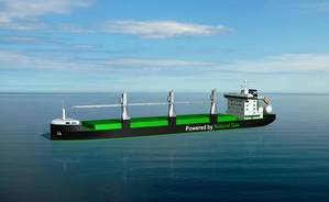 Deltamarin designs of LNG handysize bulk carriers Courtesy Deltamarin