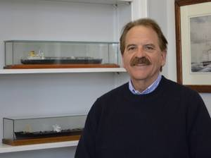 Dr. John C. Daidola (Photo courtesy of Webb Institute)