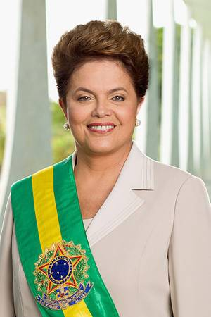 Dilma Rousseff official portrait