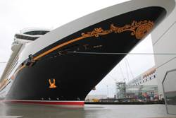 Disney Fantasy was delivered by Germanys Meyer Werft, the Cradle of Cruise Ships.