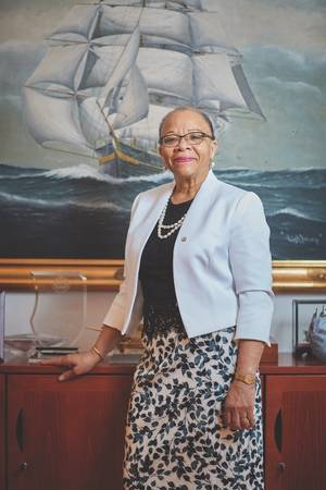 Dr. Cleopatra Doumbia-Henry, President, World Maritime University (Photo: World Maritime University)