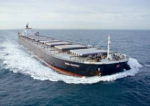 Capesize dry bulk vessel Nord Power (File photo: Dennis Schnell, Bulldog and Partners / Dampskibsselskabet NORDEN A/S	)
