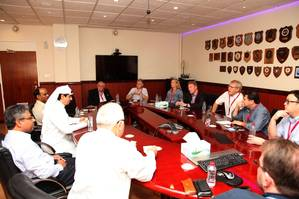 Drydocks World received a high-level delegation of the Council members from the International Association of Independent Tanker Owners