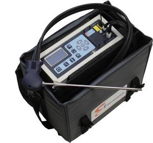 E8500 PLUS emissions analyzer (Photo: E Instruments International, LLC)