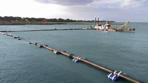 EPN  dredger for 200 km Internal Waterway Courtesy Damen