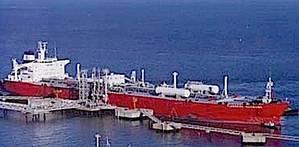 EXMAR gas carrier: Image courtesy of the owners
