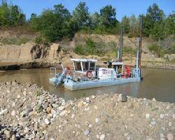Ellicott 370 Dragon® Dredge in sand mine