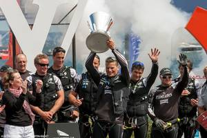 Emirates Team NZ: Photo courtesy of Americas Cup