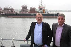 Endre Brekstad - Teknisk SjefTechnical Manager, FSV Group AS, Frank Koppelaar - Director Pontoons & Barges, Damen Shipyards Gorinchem