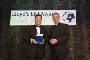 Award ceremony: Photo credit Evergreen