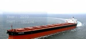 Excel Capesize Vessel: Photo courtesy of Excel Maritime