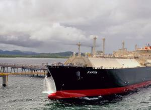 Photo:  PNG LNG