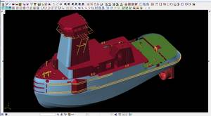 FORAN screenshot of a pusher tug (Image: Fincantieri Bay Shipbuilding)