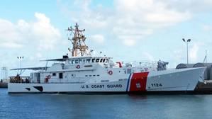 USCGC Oliver Berry in Key West, Fla. (Photo: Bollinger Shipyards)