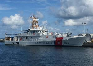 USCGC Jacob Poroo in Key West, Fla. (Photo: Bollinger Shipyards)