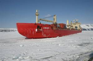 Fednavs MV Umiak I: credit Fednav Ltd