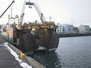 North Sea Fishing Trawler: Photo Wiki CCL