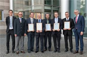For the tenth year in a row, Rolls-Royce Power Systems has commended the top suppliers of its subsidiaries MTU, L'Orange and MTU Onsite Energy. The winners from 2015 are Harz Guss Zorge from Lower Saxony in Germany, the UK's Helical, Centa from North Rhine-Westphalia, Zsnojemské Strojírnsi from the Czech Republic and Hotstart from the US. Photo Rolls-Royce)