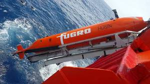 Fugro's new Echo Surveyor VII AUV holds the record for the deepest Hugin AUV dive. (Photo: Fugro)
