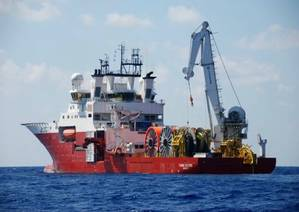 Fugro Saltire: Photo courtesy of the owners
