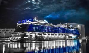 Wärtsilä is supplying a special external lighting system for the Genting Dream cruise vessel. (Photo: Wärtsilä)