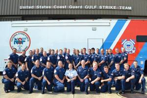 Coast Guard Gulf Strike Team: Photo credit USCG