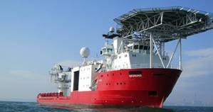 DOF Vessel Geosund: Photo credit DOF Subsea