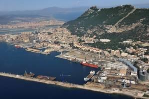 Gibraltar view: Photo Gibdock