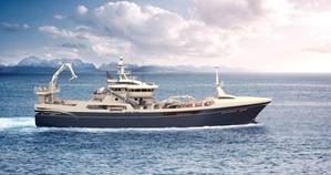 Biggest in class: Kleven's Gitte  Henning newbuild. (Illustration: Handout)