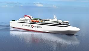 Rederi AB Gotland RoPax ferry (Image: Evac)