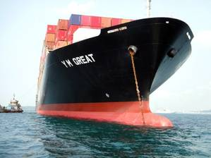 m/v Great (Photo: Diana Containerships)