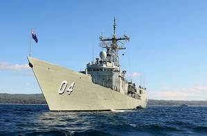 HMAS Darwin (Photo: Royal Australian Navy)
