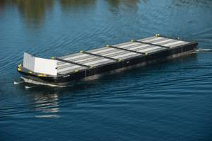 Barge Iliuliuk Bay: Photo courtesy of Vigor Fab