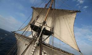 The Hermione. Photo by Friends of Hermione-Lafayette in America, Inc,