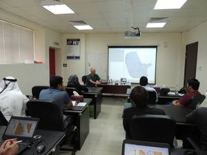 Hypack Training Seminar By Pat Sanders at Unique System FZEs Training Centre in Sharjah, UAE