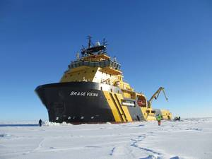 Brage Viking: Zamakona built, Caterpillar MaK powered, Ice capable