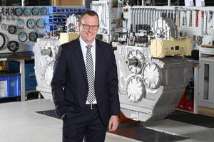 Daniel Härter, VP Industrial Technology, Head of  Business Unit Marine Propulsion Systems, ZF Marine