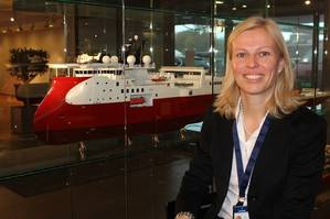 Gunvor Ulstein (photo courtesy the Ulstein Group)
