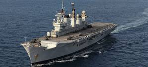 HMS Illustrious (Photo: U.K. Royal Navy)