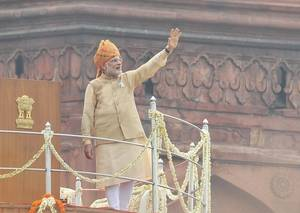 Indian Prime Minister Narendra Modi. Pic: PIB, Govt of India