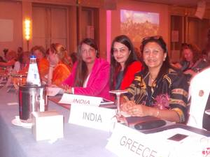 Indian Contingent at WISTA International