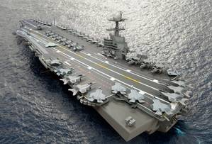 Carrier CVN 79: Artists impression courtesy of NNS