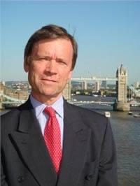 Jeffrey Evans: Photo courtesy of Maritime London