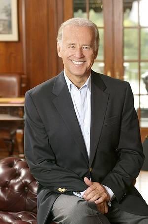 U.S. Vice-President Joe Biden: Official photograph CCL
