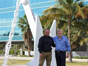 Nick Sloane and Joe Farrell (Photo: Resolve Marine Group)