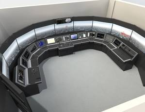 Sophisticated integrated simulator suite for new training center (Photo: Kongsberg Maritime)
