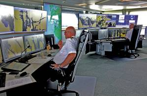 Kvitsøy Vessel Traffic Service (VTS) Center. (Image courtesy Anne Grethe Nilsen, NCA)